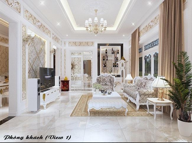 Nguyên tắc bố trí nội thất phòng khách mang lại sự thịnh vượng cho gia chủ