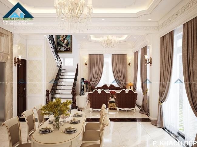 Kiến trúc Á Âu - thiết kế nội thất nhà phố đẹp