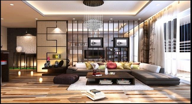 Ý tưởng thiết kế không gian sống đẹp và tiện nghi cùng Kiến trúc Á Âu
