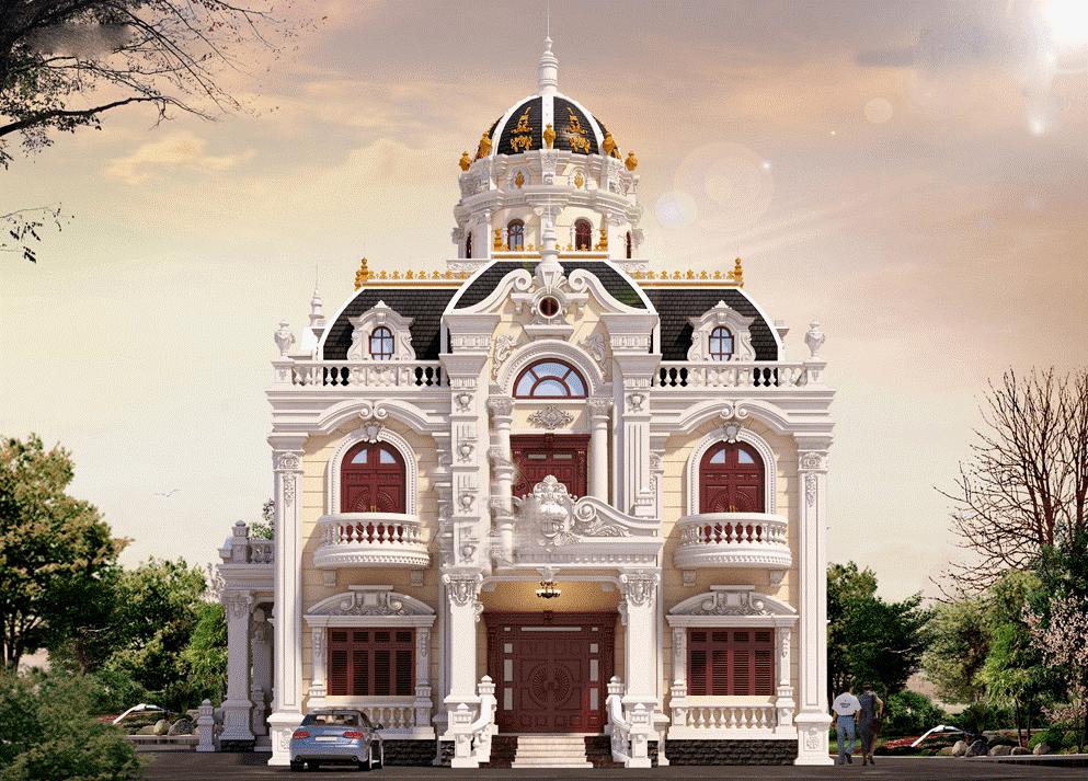 Thiết kế biệt thự cổ điển số 1 tại Đà Nẵng