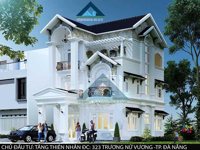 Công ty thiết kế biệt thự uy tín tại Đà Nẵng / Kiến trúc Á Âu