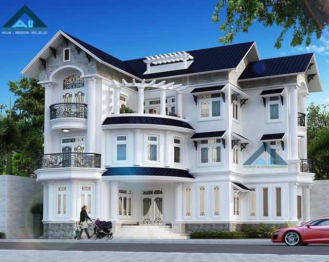Đặc trưng trong thiết kế biệt thự hiện đại tại Đà Nẵng là gì?