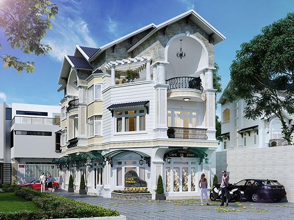Top những mẫu thiết kế biệt thự 3 tầng sang trọng đẳng cấp của Kiến Trúc Á Âu