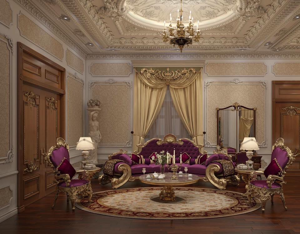thiết kế thi công nội thất biệt thự đẹp