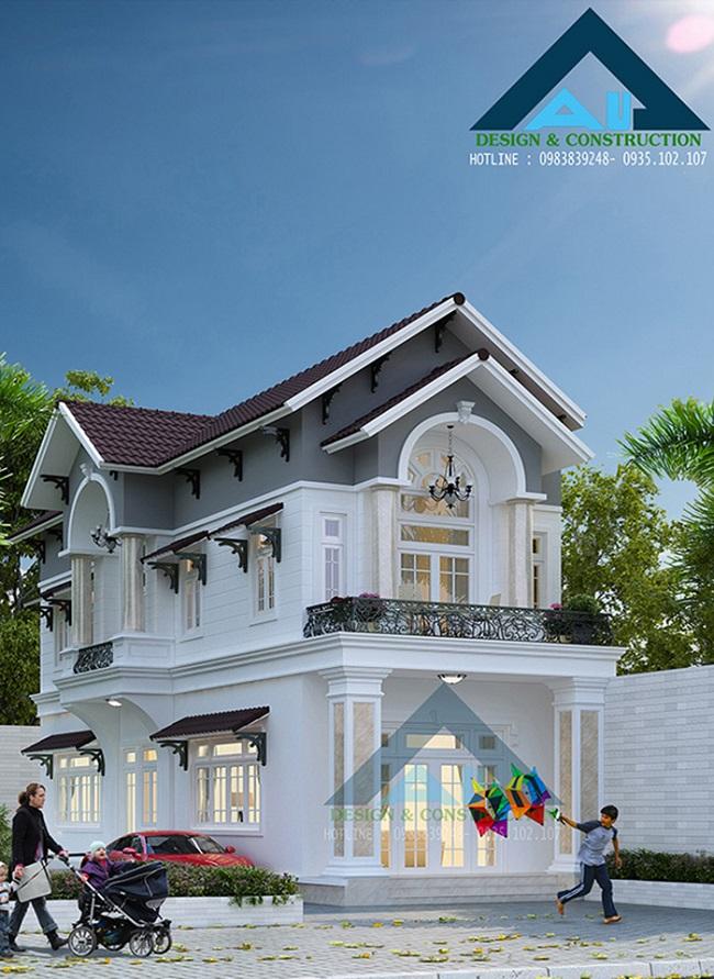 Tiêu chuẩn một ngôi nhà đẹp đối với Kiến trúc Á Âu