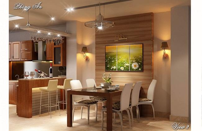 Bố trí nội thất căn hộ chung cư hiệu quả với Kiến trúc Á Âu