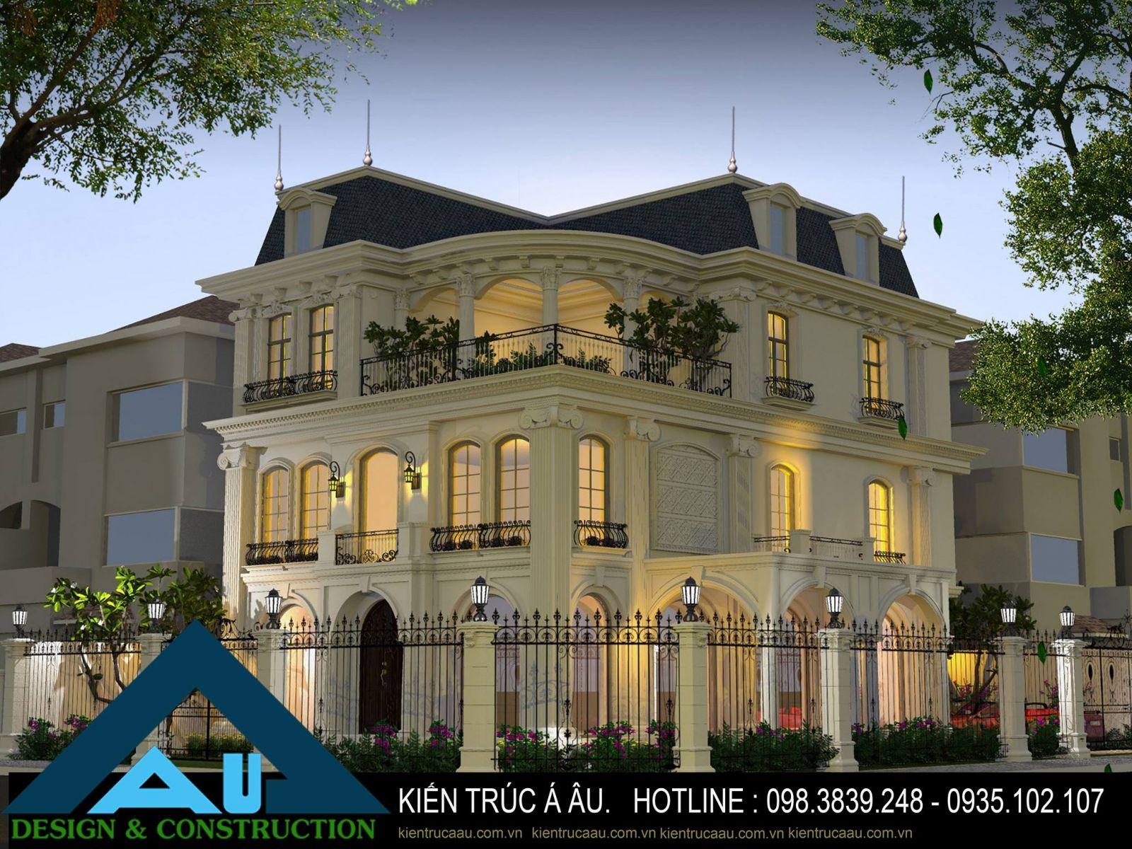 Thiết kế biệt thự tại Đà Nẵng sang trọng tinh tế đẳng cấp