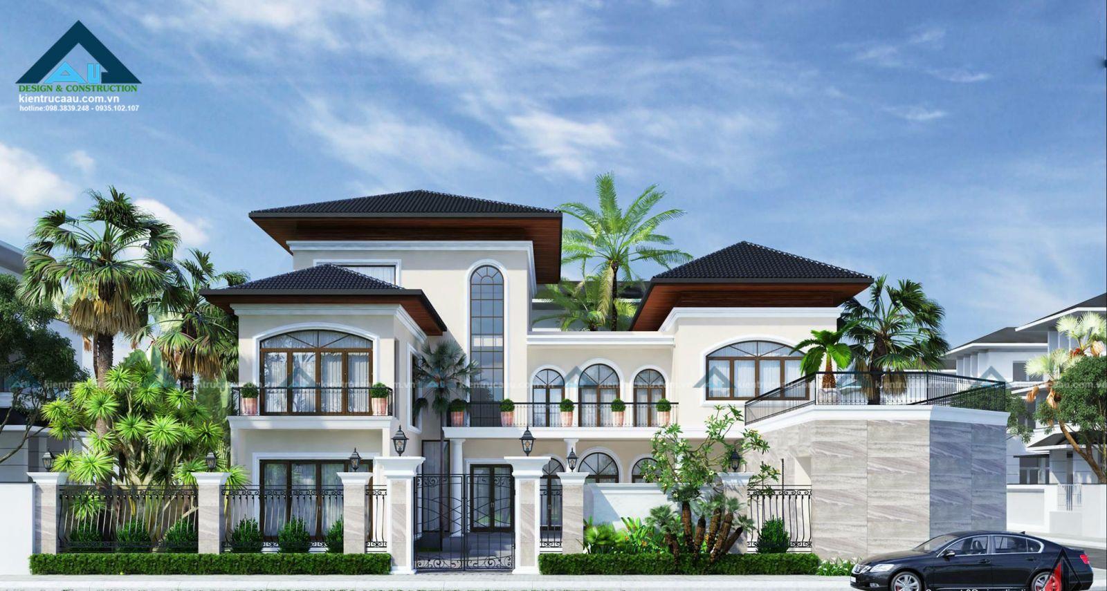 thiết kế biệt thự vườn tại đà nẵng