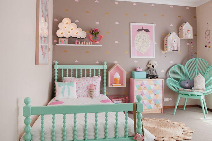 Những thiết kế giường xinh cho bé gái