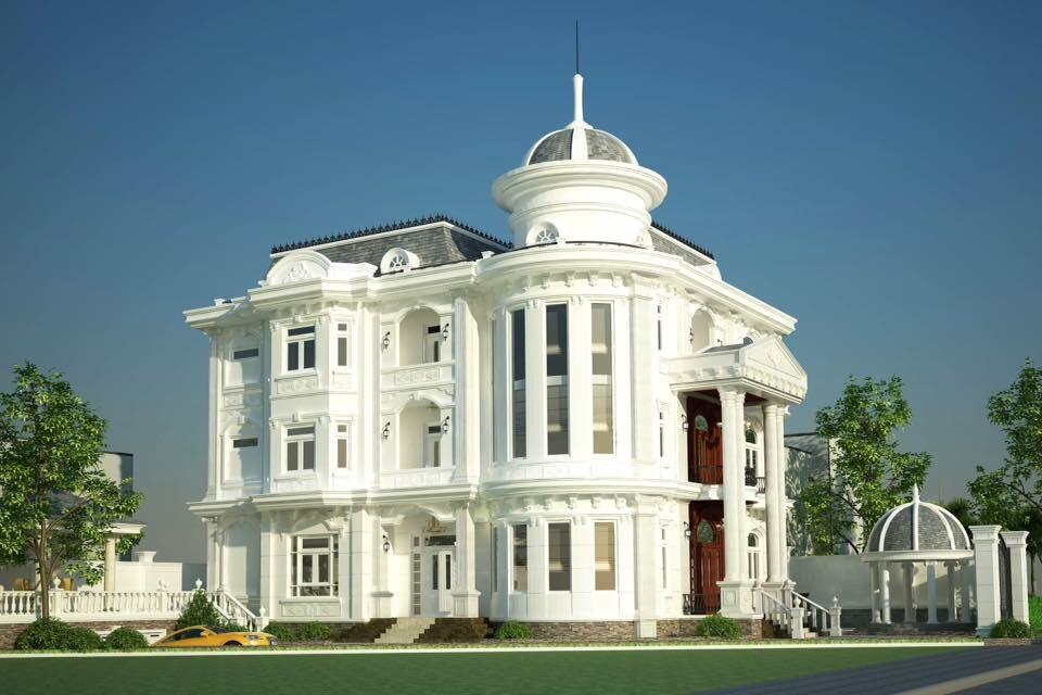 Nét độc đáo trong thiết kế biệt thự kiểu Pháp là gì?