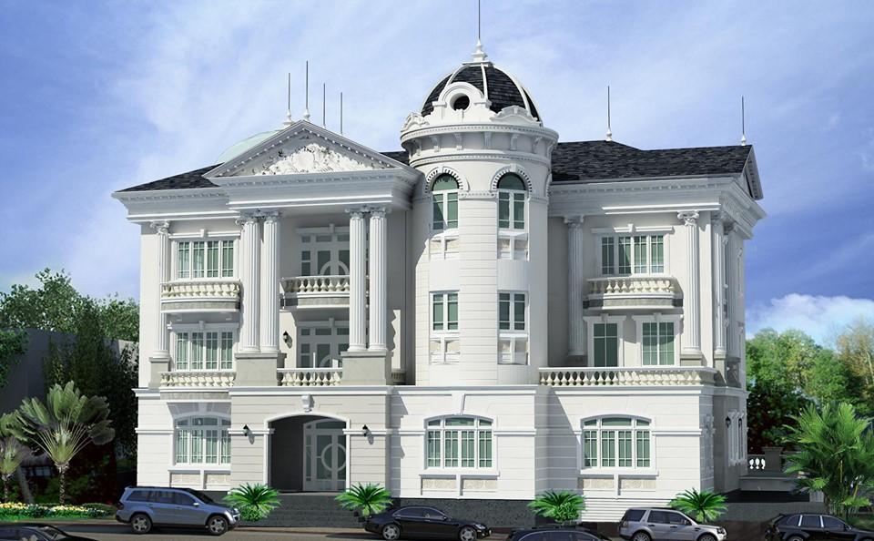 thiết kế biệt thự phố tân cổ điển tại đà nẵng