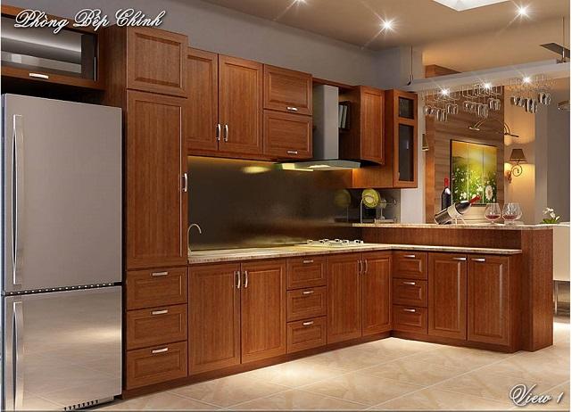 Lưu ý khi thiết kế nội thất phòng bếp