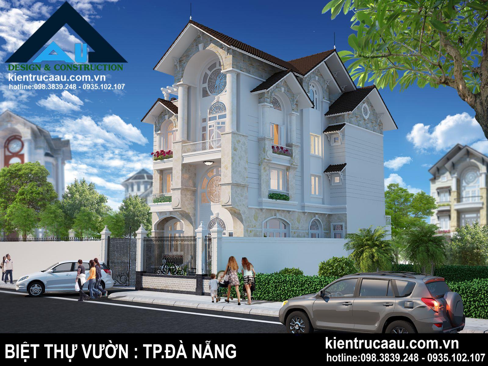 Thiết kế biệt thự vườn tại Đà Nẵng cần diện tích bao nhiêu?