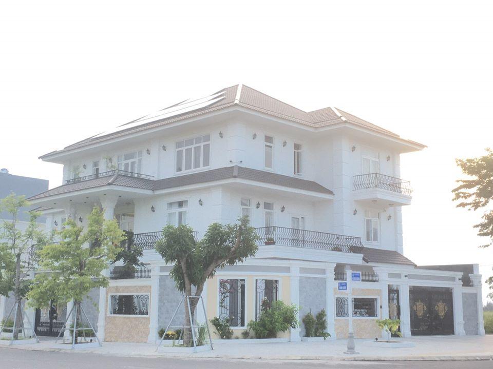 Khám phá vẻ đẹp như mộng của biệt thự 3 tầng tân cổ điển / Biệt thự đẹp tại Đà Nẵng - Kiến trúc Á Âu