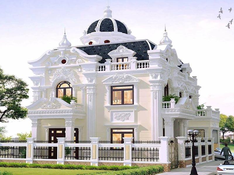 Thiết kế biệt thự lâu đài - Nét đẹp sang trọng đẳng cấp