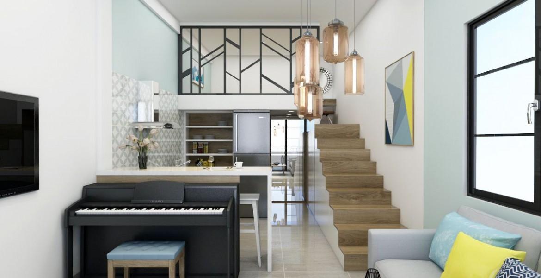 thi công thiết kế căn hộ mini cho thuê tại đà nẵng