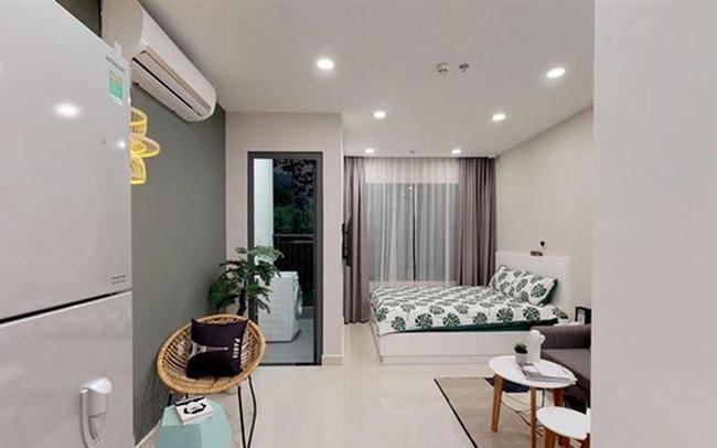Thiết kế nội thất căn hộ mini cho thuê phong cách hiện đại tại Đà Nẵng
