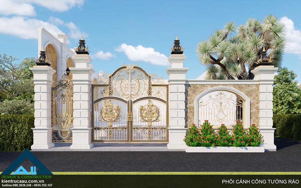Cổng biệt thự và những lưu ý khi thiết kế/ Thiết kế biệt thự tại Đà Nẵng