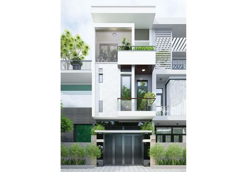 thiết kế nhà phố đẹp hiện đại