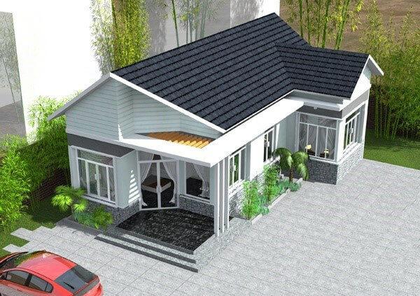 Biệt thự 1 tầng - Sự lựa chọn hoàn hảo cho cuộc sống hiện đại