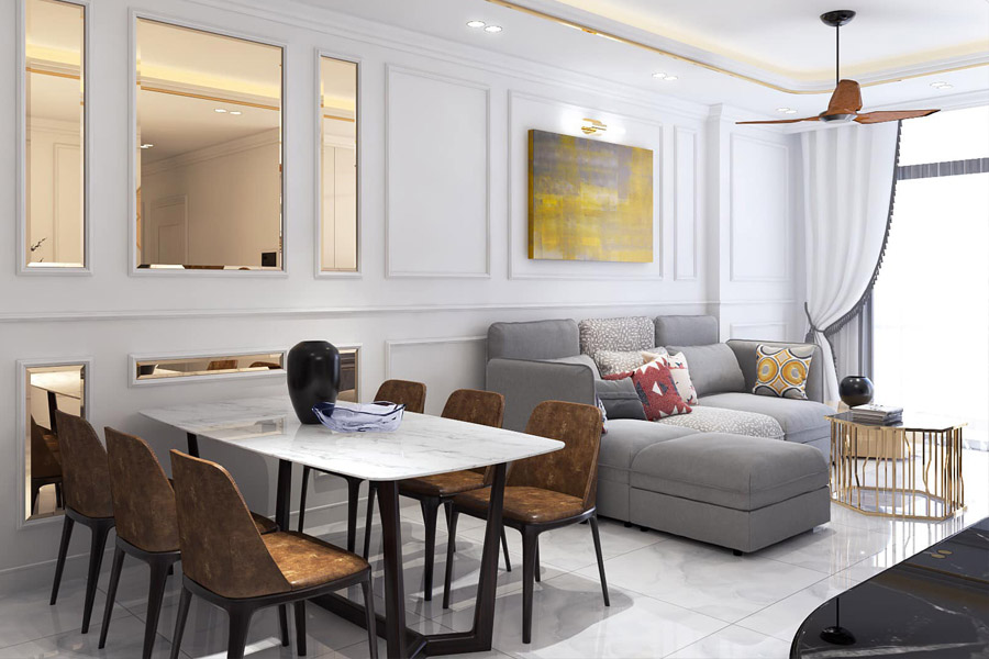 Bộ sưu tập nội thất căn hộ chung cư số 1