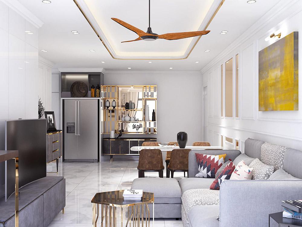 thiết kế thi công căn hộ homestay tại đà nẵng