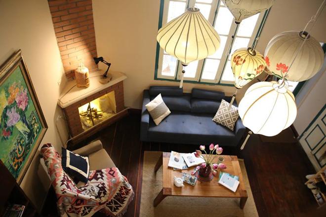 thiết kế nội thất căn hộ homestay tại đà nẵng Phong cách Retro