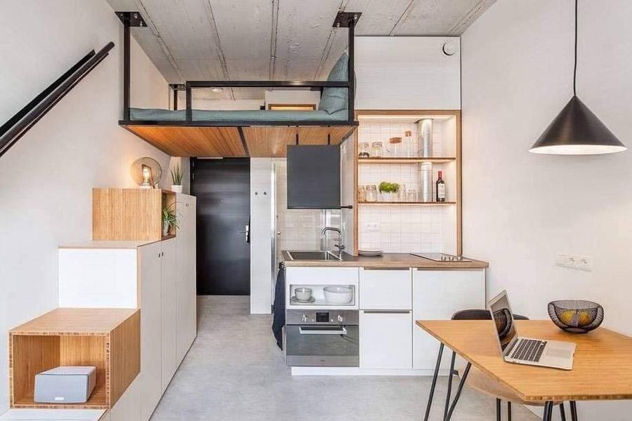 Bộ sưu tập nội thất căn hộ nhỏ