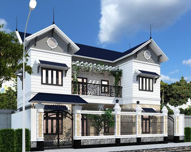 thiết kế kiến trúc villa, biệt thự