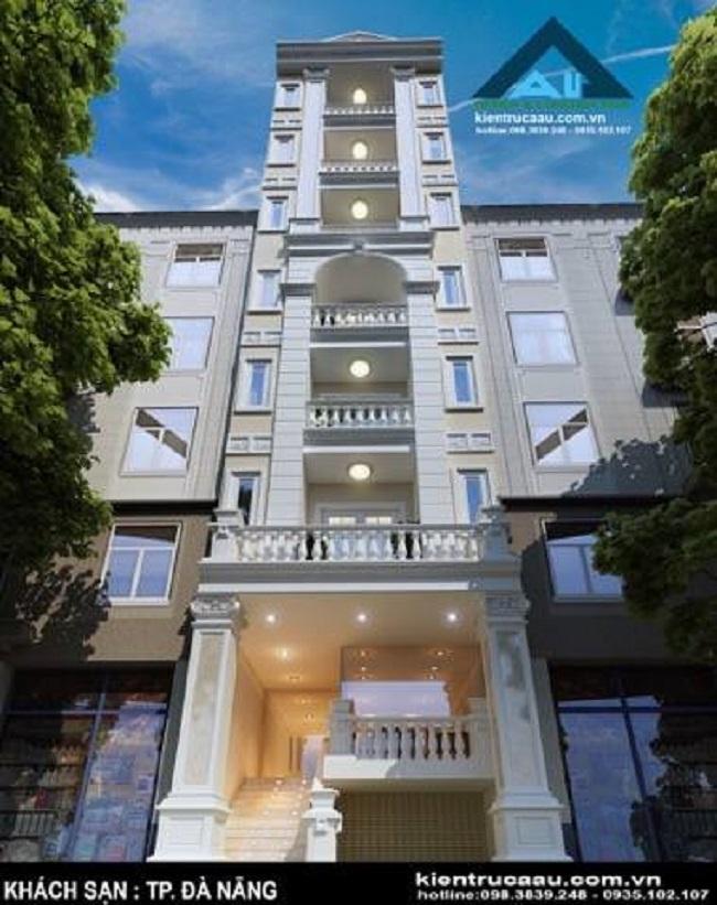 xây dựng, thi công khách sạn cao tầng - chung cư