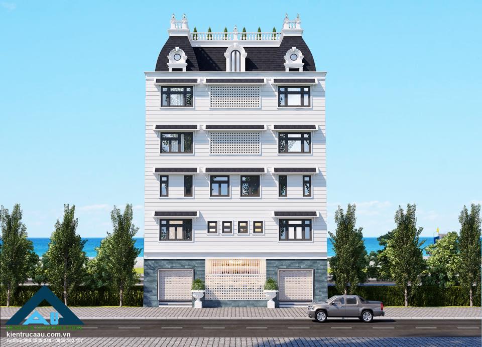 Thiết kế biệt thự cổ điển hàng đầu tại Đà Nẵng / Kiến trúc Á Âu