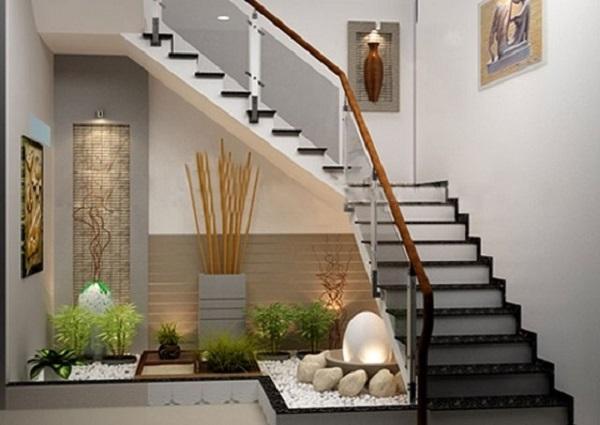 Cách thiết kế cầu thang cho nhà ống hợp lý