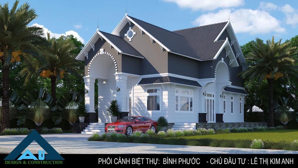 Biệt thự mái thái và những lưu ý cho việc thi công đúng chuẩn / Thiết kế biệt thự tại Đà Nẵng