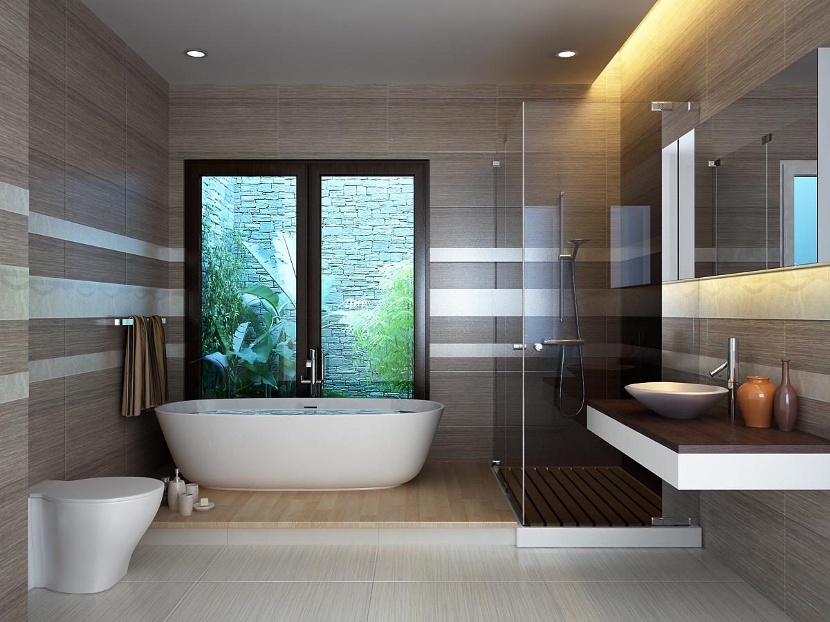 Phòng tắm và phòng vệ sinh