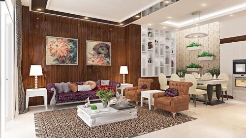 Kiến Trúc Á Âu - Thiết kế thi công nội thất biệt thự tại Đà Nẵng
