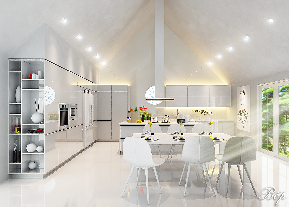 Thiết kế nội thất biệt thự hiện đại tại Đà Nẵng