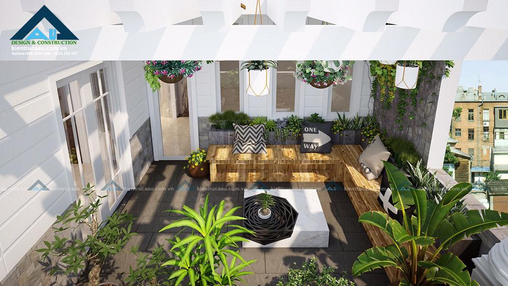 Thiết kế biệt thự vườn tại Đà Nẵng một không gian sống hoàn hảo