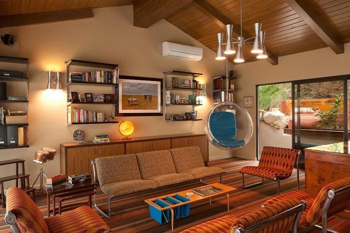 Phong cách Retro trong thiết kế nội thất / Kiến trúc Á Âu