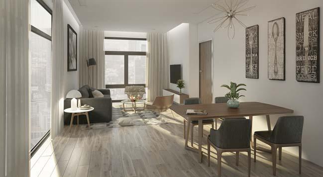 Thiết kế phòng khách nhỏ nhưng luôn cảm thấy rộng