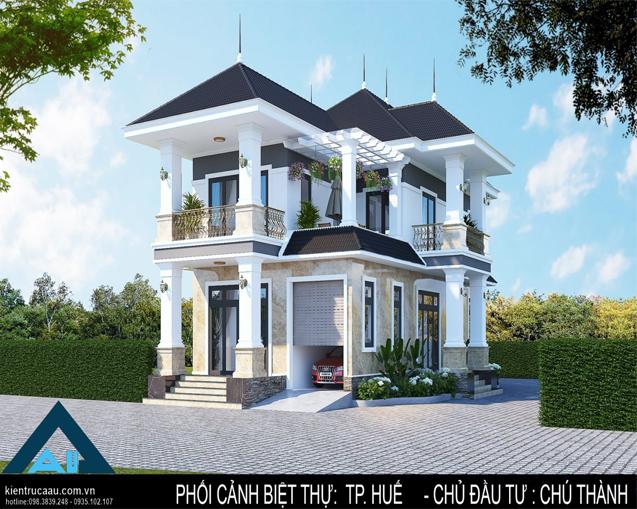 Biệt thự anh Thành (Việt Kiều Huế)