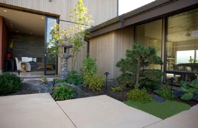 Những nguyên tắc thiết kế sân vườn đẹp