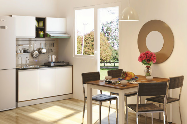 Những ý tưởng thiết kế không gian nhà bếp nhỏ gọn, ngăn nắp